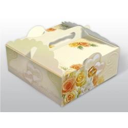 Pudełko na ciasto weselne EPC 0836