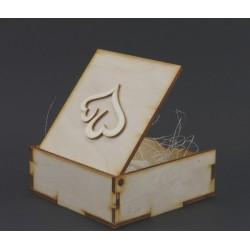 pudełeczko na obrączki