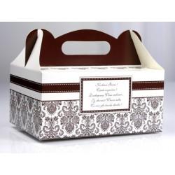 Pudełko na ciasto weselne PUDCS 3