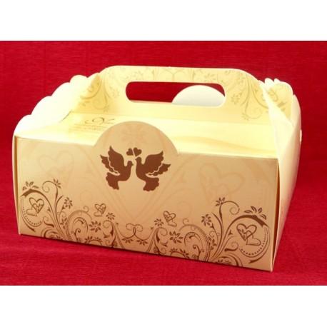 Pudełko na ciasto weselne EPC 273