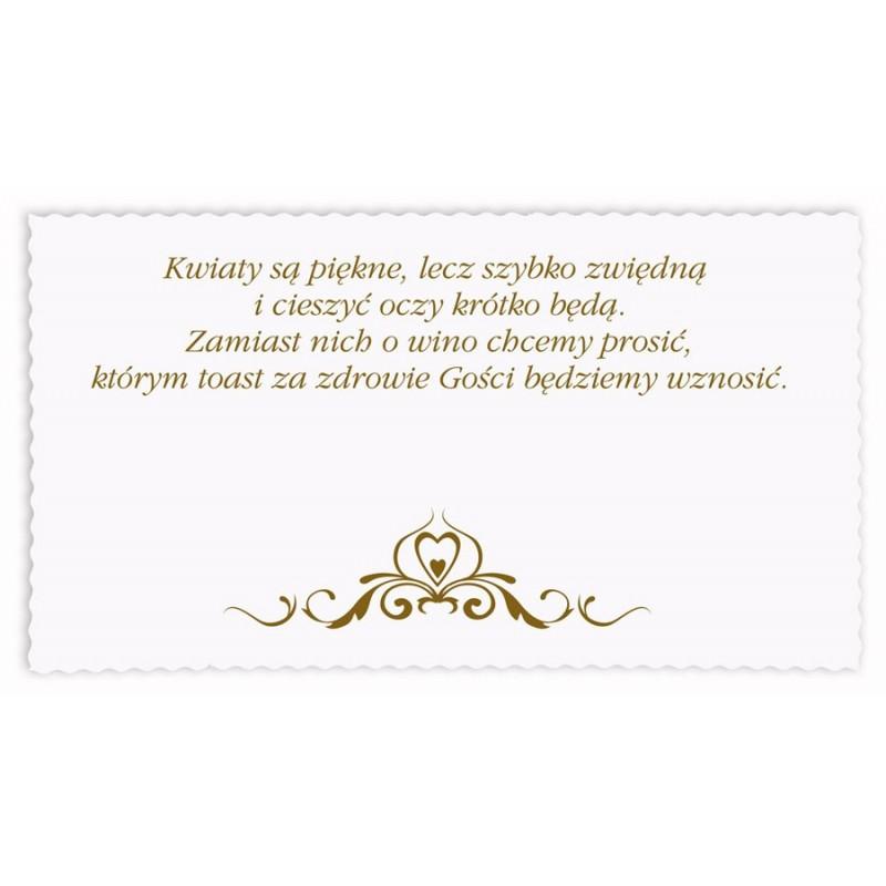 Zaproszenie ślubne Zsp 794 Artmilanpl