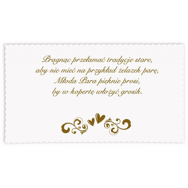 Zaproszenie ślubne Zsp 802 Artmilanpl